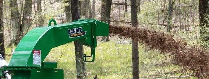 Štěpkovač Bandit 12X manuální